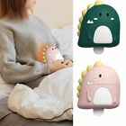 Silicone Dinosaur Hot Water Bottle Rubber Bag Winter Color Girl Belly Heat Pack