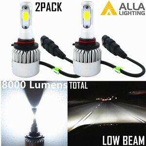 Alla Lighting 8000LM 6000K HB4 COB-LED lo  Beam hd-light  Bulbs Lamp Xenon White