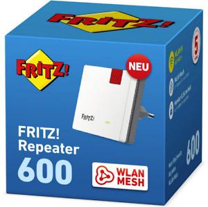 AVM FRITZ! Repeater WLAN Mesh 600 Mbit/s Fritzbox WPS Signal Verstärker 2,4 GHZ