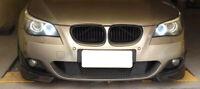 BMW 5 E60 Front Bumper Spoiler Lip Splitter M Sport M Tech Bumper