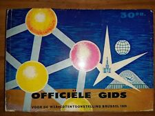 Expo 58 officiële gids NL gids tentoontoonstelling guide expo58