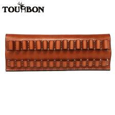 Soporte del cartucho Tourbon Billetera municiones Bolsa de cáscara de 30-06 15 redondo con cinturón de bucle