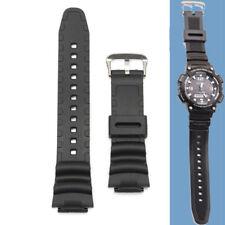 18mm Original Watch Strap Band For Casio SGW 300H SGW 400H SGW 300 SGW 400 Black