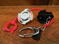Beyblade Mini Driger Keyring with Launcher and Ripcord Keychain