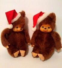 2 Vintage Russ Berrie & Co. TUBBY Christmas, Santa Bears