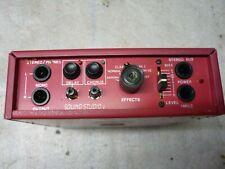 Multieffektgerät Nobels Sound Studio 1, auch für Kopfhörer super geeignet