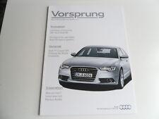 Audi Magazin Vorsprung von 04.2010 Thema u.a.Der neue A6,Q5 Hybrid quattro,usw..