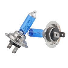 2x H7 12V 100W 6000K Xenon White Low Beam Super Bright Halogen Headlight Bulbs