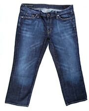 Citizens of Humanity Womens Kelly 063 Stretch Denim Low Cropped Blue Jeans Sz 30