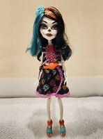 Monster High Skelita Calaveras Art Class Doll Skeleton Mattel Preowned