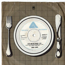 "Linda Lewis - It's In His Kiss / Walk About 7"" Single 1975"