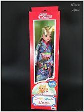 Vintage Takara JENNY Doll Blue KIMONO