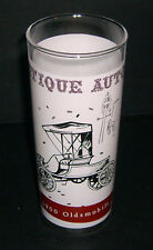 Vintage Drinking Glass - Antique Autos 1900 Oldsmobile