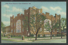 1944 PARK PLACE CHURCH OF GOD ANDERSON IND POSTCARD