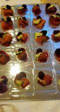 50 PZ PIATTINO FLAT FORMA TRASPARENTE  FINGER FOOD APERITIVI PARTY