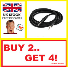 3.5mm Audio Aux Cable Male to Male Stereo Jack Lead iPhone iPod Car PC Headphone