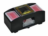 AUTOMATIC BATTERY OPERATED POKER CASINO ONE/TWO DECK CARD SHUFFLER SORTER