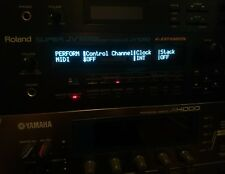 Roland JV-1080 XP-30 XP-50 or/Ambre/Blanc OLED Display!