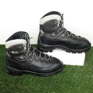Raichle Mens Walking Boots Vibram Sole Black Size UK 11 US 12 Good Condition