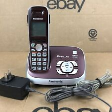 Panasonic KX-TG6521 Cordless DECT 6.0 PLUS Phone & Answering Machine 6.M1