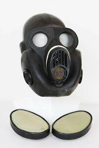 Gas MASK PBF & filter SOVIET Rusian BLACK exotic GIFT GORILLA, BULDOG FACE