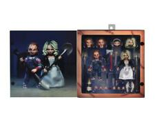 BRIDE of CHUCKY & TIFFANY ULTIMATE Clothed Action figure NECA 42114 NEW SEALED