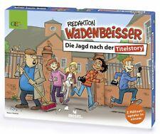 Gesellschaftsspiel Redaktion Wadenbeisser, moses Verlag, ab 8 Jahre, 2-4 Spieler