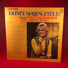DUSTY SPRINGFIELD Sings Burt Bacharach & Carole King 1975 UK Vinyl LP EXCELLENT