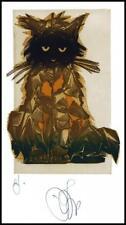 Agirba Ruslan 2009 Exlibris X6 Project Cat Katze Gato Kot Animals p57