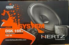 HERTZ DSK 165.3 CAR AUDIO 6.5