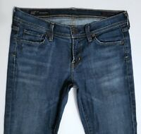 Citizens of Humanity Women's INGRID STRETCH FLARE Low Rise Dark Jeans 29 x 32