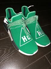 Adidas NMD Pharrell Human Race Green Hu Barely Used 100% AUTHENTIC Size 11