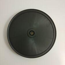 Vintage Philips Type 22 GA 247 Turntable Part Plastic Platter Tested