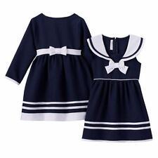 BONNIE JEAN BABY Girls' 12M Sailor Dress & Coat Set *NWT*