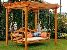 HollywoodSchaukel Gartenmöbel Massiv Holz Schaukel
