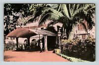 Kingston, King's House, Home Of Governor, Vintage Jamaica Postcard
