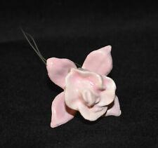 Hagen Renaker Fuschia Flower Miniature Figurine