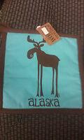 Alaska Theme Decorative Pot Holder  Cute Leggy Moose  - New Alaska Hot Pad
