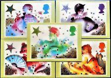 GB 1985 PHQ Cards Mint Set~Christmas~(5)~PHQ-88~UK Seller