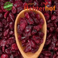 1 kg  Cranberries ganz  mit Ananassaft gesüsst ungeschwefelt  Spitzenqualität