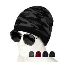 Men's Women Knit Ski Cap Hip-Hop Camouflage Winter Warm Unisex Beanie Wool Hat