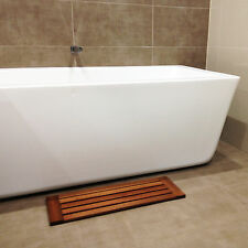 Wooden Timber Bath Shower Bathroom mat Gym Pool Spa 680mm x240mm