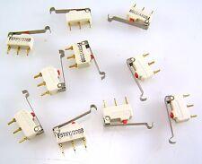 Microinterruttore con leva F5T8Y/2288 azione a pulsante saturimetria 10 PEZZI MBE002a