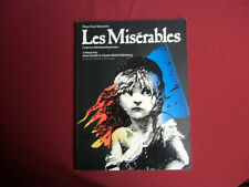Les Miserables (Musical) . Songbook Notenbuch Piano Vocal Guitar PVG