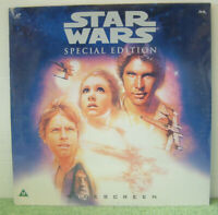 Star Wars: Special Edition (1997)PAL Laser Disc Sci-Fi Film Mark Hamil EE 1232-1