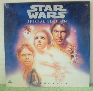 Star Wars: Special Edition (1997)PAL Laser Disc Sci-Fi Film Mark Hamil EE 1232-1