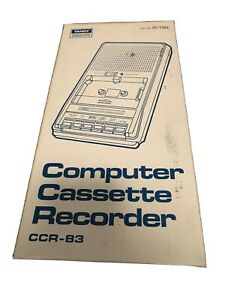 Tandy Computer Cassette Recorder Model CCR-83