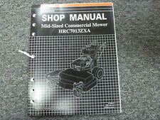 Honda Power Equipment HRC7013ZXA Mid Size Commercial Mower Service Repair Manual