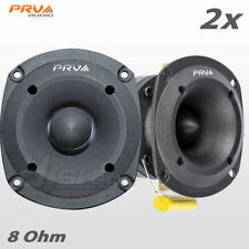"2x PRV Audio TW350Ti Bullet 3"" Pro Super Tweeter 8 ohm Titanium Car Stereo 240W"