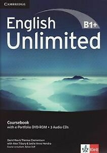 English Unlimited B1+ -Intermediate / Coursebook with e-... | Buch | Zustand gut